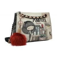 Τσάντα ώμου Paris by Anekke 29882-64