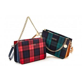 Καθημερινή γυναικεία τσάντα Verde 16-0005323