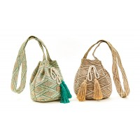 Verde ψάθινη τσάντα 48-0000100
