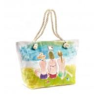Verde ψάθινη τσάντα 48-0000111