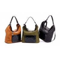 1f768208e33 Καθημερινή γυναικεία τσάντα Verde 16-0004803