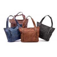 f859276fb22 Καθημερινή γυναικεία τσάντα Verde 16-0004826