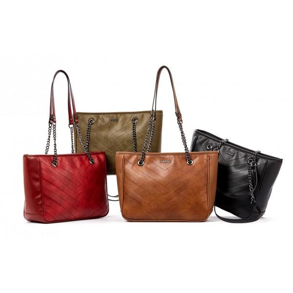c58efbbaaba Καθημερινή γυναικεία τσάντα Verde 16-0004949