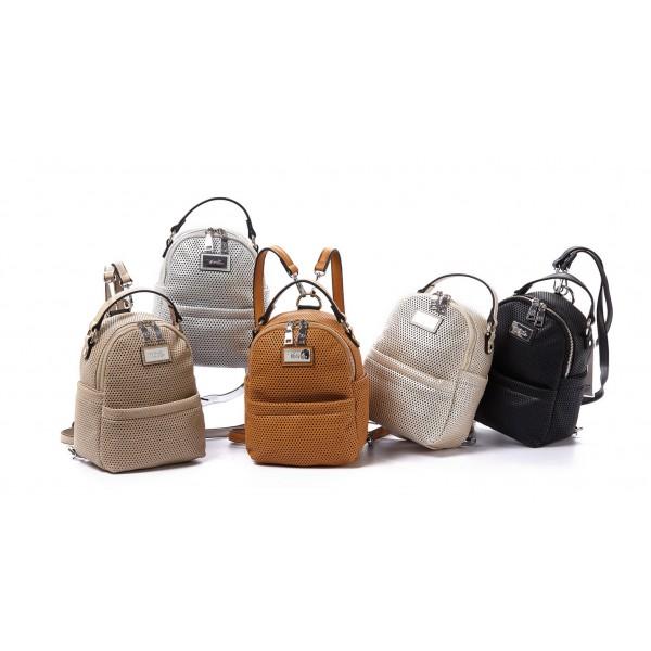Γυναικεία τσάντα πλάτης Verde 16-0004583 c5fac2b36da