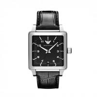 Emporio ARMANI Black Leather Strap AR1621