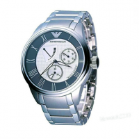 Emporio ARMANI Meccanico Stainless Steel Gents Watch AR4610