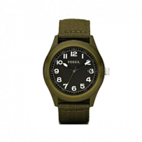 FOSSIL Interchange Able Olive Fabric Strap JR1293