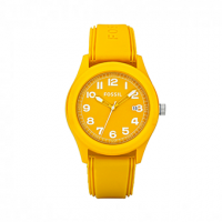 FOSSIL Sports All Yellow Rubber JR1299