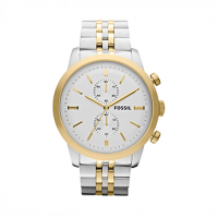 FOSSIL Townsman Two Tone Stainless Steel Chronograph FS4785
