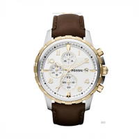 FOSSIL Dean Brown Leather Chronograph FS4788