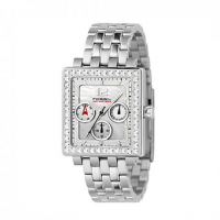 FOSSIL Multi Crystals Stainless Steel BQ9366